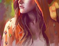 Portrait study #7