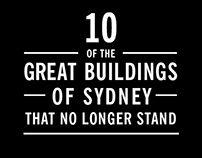 10 Great Buildings of Sydney That No Longer Stand