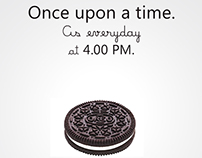 Oreo fictive Teasing advertising project (personal)