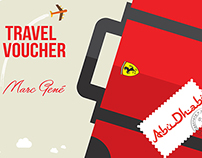 Travel Voucher - Marc Gené