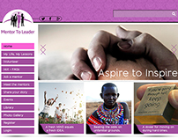 Mentor to Leader website rebranding