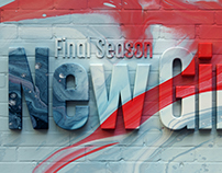 New Girl:Final Season Promo Design Exploration