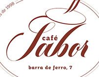 Café Sabor logotype