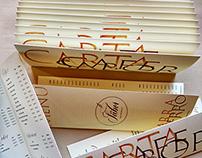 Café Sabor Menu