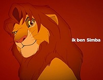 SBS 6 Simba (The Lion King) ident