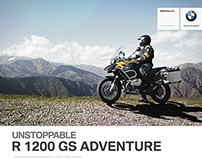 BMW R 1200 GS Adventure | UNSTOPPABLE