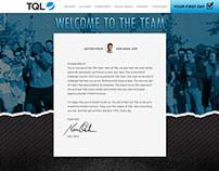 Welcome to the Team: New Employee Website