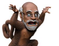 Prof. Monkey