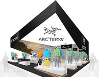 ArcTeryx Apparel Exhibit Design Concept
