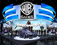 WB - Warner Bros. Game e3 Exhibit Design Concept