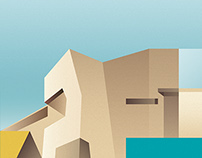 Wallpaper* January Issue - Architecture Illustrations