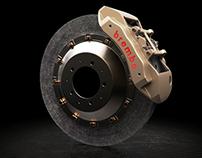 Brembo Carboceramic brake kit