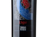 """T&T / Bottiglia regalo e calendario 2015 """"I Futuristi"""""""