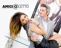Amici@letto - Comedy Central - Tab for Facebook