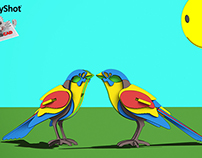 Sunnybirds - Keyshot toon challange entry