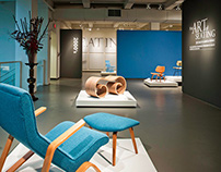 The Art of Seating Exhibit Brand & Design
