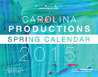 Carolina Productions Spring 2015 Calendar