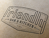 «Friendly Bar&Kitchen» Logo