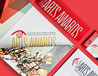 """City Lights"" Arts Awards Invite"