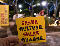 SPARK Cultural DIstrict Branding