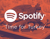 Spotify - Time for Turkey