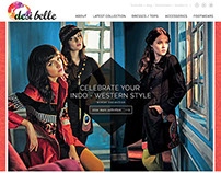 Desibelle Website Design