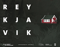 REYKJAVIK - Animated poster