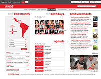 The Coca-Cola Company - Intranet proposal site