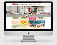 Kellogg's Pro - Website