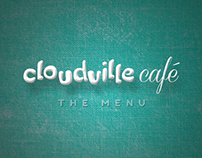 Cloudville Cafe | Menu Design