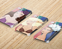 Some designs for iPhone cases