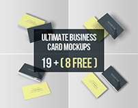 Ultimate Business Card Mockups - Free Download