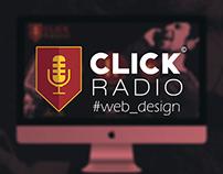 CLICK RADIO web page