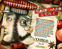 Restaurante Tango Print