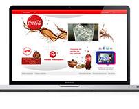 Coca-Cola LATAM 2010 - Brand site