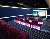 Home Theater@ Riyadh, KSA 2013