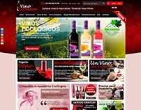 Logo y Tienda online Vinosensación