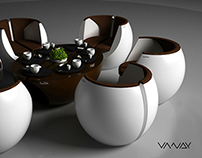 CoffeBean Furniture Concept Design