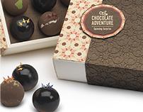 Packaging Design | TIFA Chocolate & Gelato | Rebrand