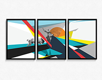 Abstract World Illustration
