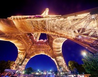 HDR Eiffel Tower