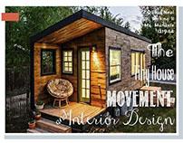 The Tiny House Movement & Interior Design