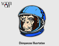 Chimpanzee Illustration