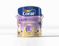 Tinta Coral - Novo Lavável Antimanchas