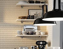 Designer kitchens CGI roomsets