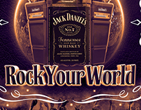 Jack Daniel's Colombia Poster