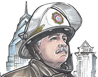 Philadelphia Fire Department Chief Portrait