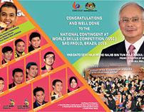 World Skills Competition Congratulation Print Ads