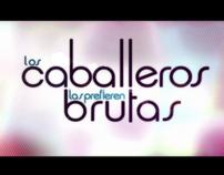 LOS CABALLEROS LAS PREFIEREN BRUTAS LOGO