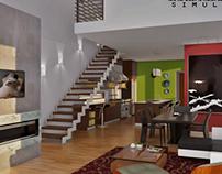 Diseño Interior. Nicola, Leonardo. Simulacrum